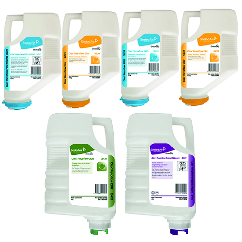 Diversey Care Clax Revoflow Off The Floor Laundry Solution