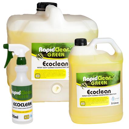 Heavy Duty Detergent Sanitiser - Ecoclean