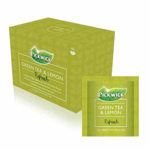 Pickwick Refresh Green Tea and Lemon Enveloped Teas