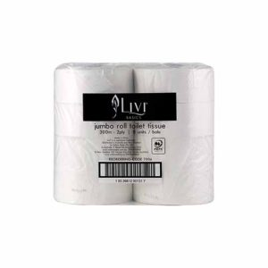 Livi Essentials 2ply 300M Jumbo Toilet Roll