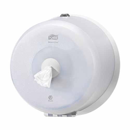 Tork SmartOne Mini Toilet Roll Dispenser White T9
