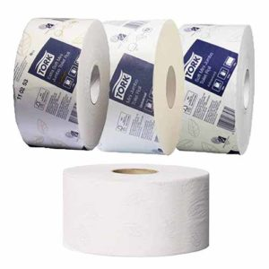 Tork Mini Jumbo Toilet Tissue Roll T2