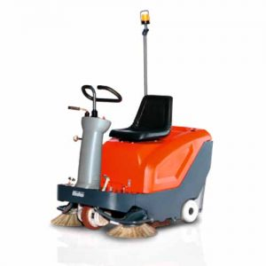 Hako Sweepmaster B800R Battery Ride On Sweeper