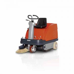 Hako Sweepmaster B900R Battery Ride On Sweeper
