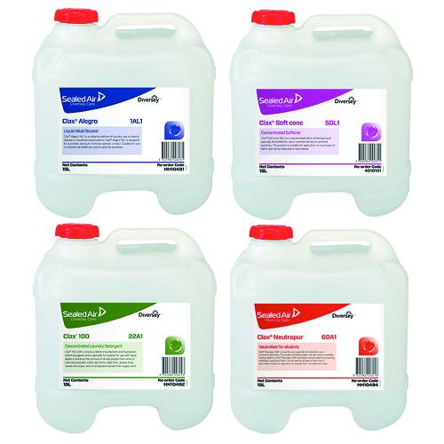 Diversey Care Clax Laundry Liquid range