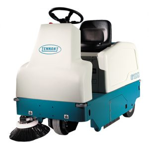 Tennant 6100 Sub Compact Ride on Sweeper